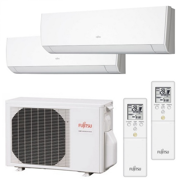 climatizzatore dual split 12000 9000