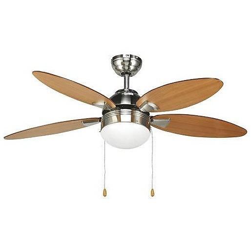 ventilatore lampadario colorato