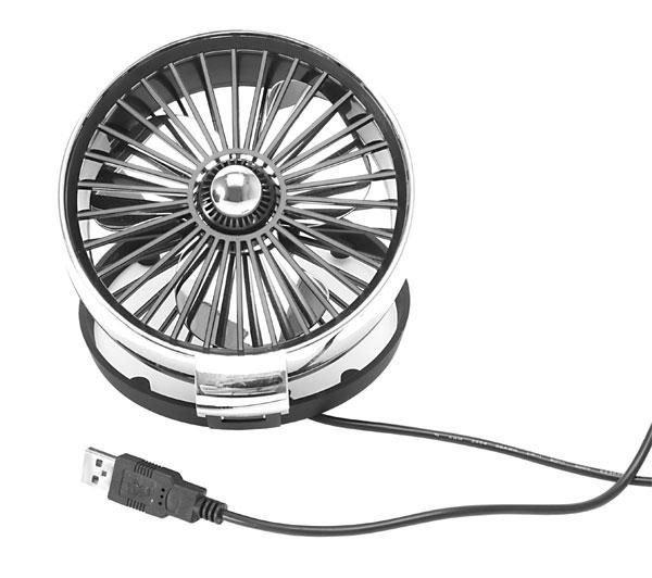 ventilatore usb ricaricabile clip