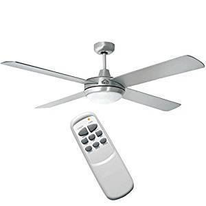 Ventilatore con telecomando in acciaio tra i più venduti su Amazon
